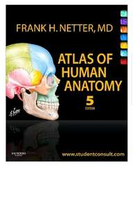 Netter's Atlas of Human Anatomy 5th Ed PDF