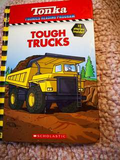 Tonka phonics reading program Tough Trucks