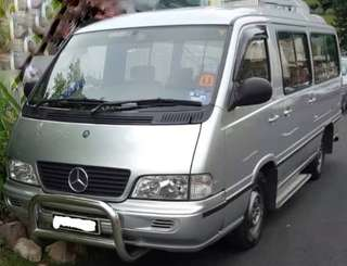 2001 Mercedes Benz MPV 140 14 Seat window van