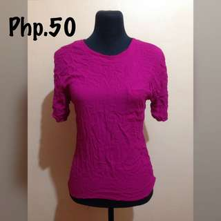 Fuschia Pink Blouse