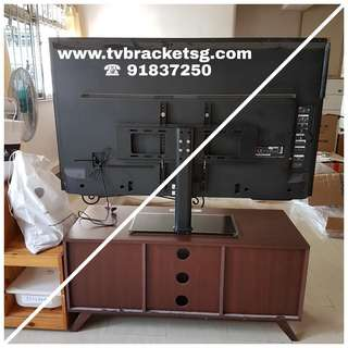 Universal TV Base From 32 inch to 55 inch