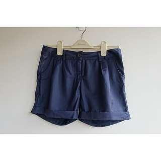 反折西裝料短褲