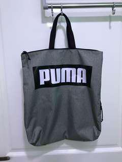 Puma Backpack Grey color Unisex
