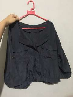 satin blouse /outer