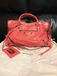 Balenciaga Sac+Miroir Pink