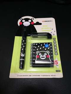 Kumamon fountain pen