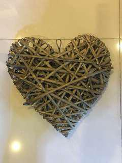 Heart Decor for Weddings and Parties Set of 2