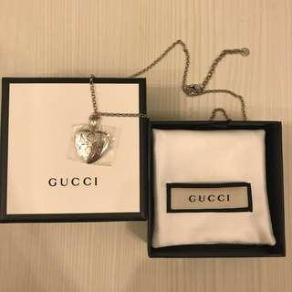 Gucci 頸鏈925純銀