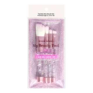 ETUDE HOUSE My Beauty Tool Twinkle Mini Brush Set 4pcs