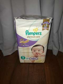 Pampers Premium Care S 60s