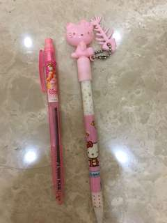 Pen hello kitty dan Disney princess