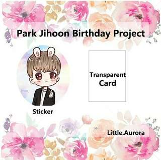 WANNA ONE Park Jihoon Birthday Project