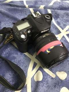 nikon D90 + nissin speedlite + nikkor lens 35mm 1.8 + 2 bags