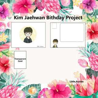WANNA ONE Kim Jaehwan Birthday Project
