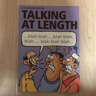 Grammar Matters: Talking At Length by RELC