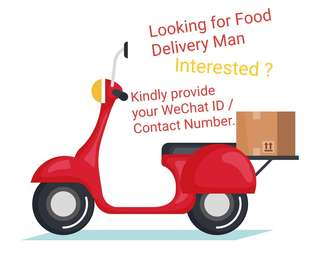 Looking for Delivery Man