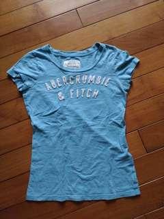🚚 正版AF,二手,size S,天空藍,肩寬33cm.胸寬38cm