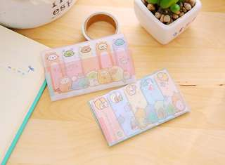 🚚 Sumikko Gurashi Stick Markers / Sticky Memo Pad @ $1.50 only!!! Ready Stocks!