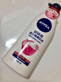🚚 妮維雅美白潤膚乳液400ml