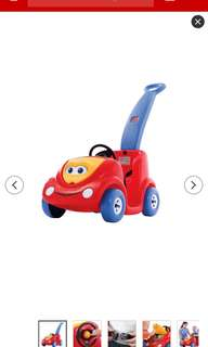REPRICED. Step 2 Push Around Red Buggy Car