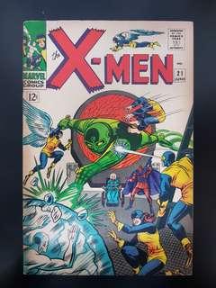 X-Men (vol.1) #21