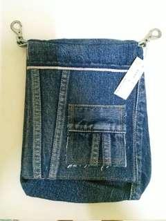 日本直送!兒島特產 handmade 牛仔布袋