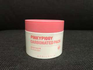 🚚 Pinky piggy carbonated pack mask