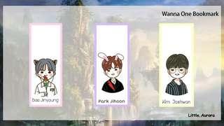 Wannaone Bookmark