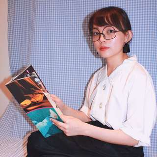 Tienlo ✼白色繡花襯衫✼ 鏤空雕花領 小花刺繡 純白寬鬆短袖上衣 文藝清新 早期Vintage 日本古着