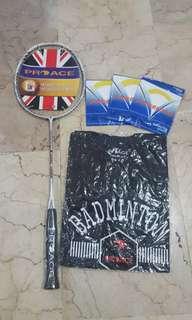 Raket badminton proace sabre 50