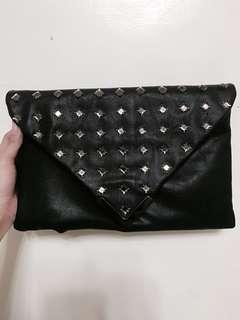ALDO envelope clutch/shoulder bag