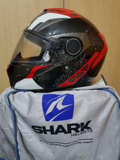 Shark Spartan Carbon Full Face Helmet (XL)