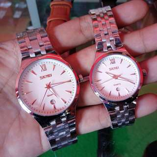 Jam tangan skmei 9071 couple original + box