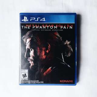 [PS4] Metal Gear Solid : The Phantom Pain