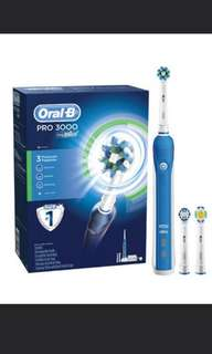 BNIB Oral-B Pro 3000 Rechargable electric toothbrush