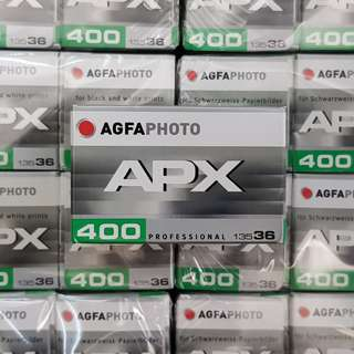 Agfa AgfaPhoto APX 400 Black and White Super Fresh Film ! Exp Sept 2022