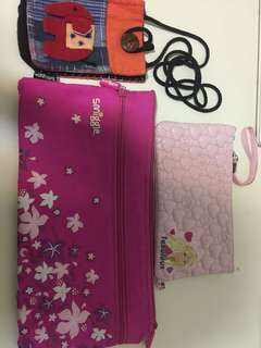 Stationery pencil case and pouch