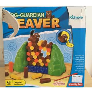 "Multiplayer toy ""Beaver"" with sound and activity sensors"