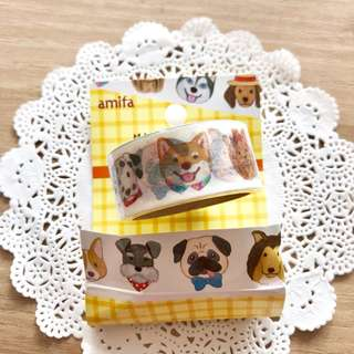 BN Japan Dogs Washi Tape (4m)