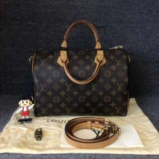 💯% Authentic Preloved Louis Vuitton Speedy 30 with long strap