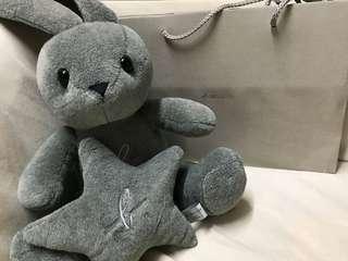 Agnesb 兔兔毛公仔