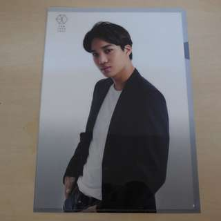 [LAST 1][CRAZY DEAL 90% OFF FROM ORIGINAL PRICE][READY STOCK]EXO KAI KOREA OFFICIAL A4 SIZE FILE 1PC; ORIGINAL FR KOREA (PRICE NOT INCLUDE POSTAGE)PLEASE READ DETAILS FOR MORE INFO; POSLAJU:PENINSULAR AREA :RM10/SABAH SARAWAK AREA: RM15
