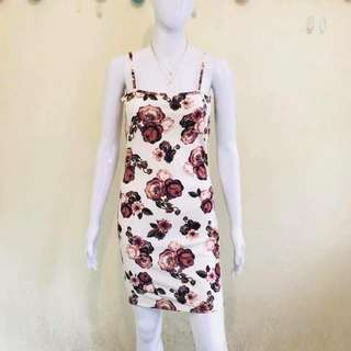 Floral Dress Bodycon