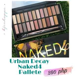 Naked4 Eyeshadow pallete