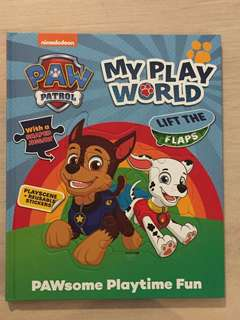 🚚 Paw Patrol My Playworld Lift the Flaps