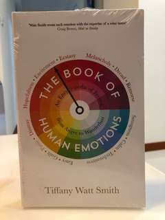 The Book Of Human Emotions - Tiffany Watt Smith (Psychology / Social History book)