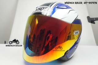 Shoei J-Stream Yamaha [BLUE]