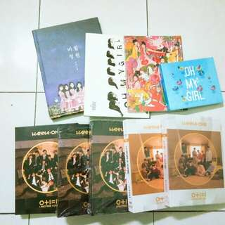 [WTS] OH MY GIRL & WANNA ONE ALBUM