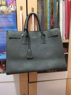 韓國灰色手袋 OL袋