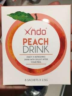Xndo peach drink